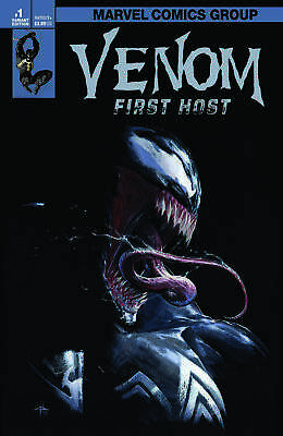 Venom First Host 1 Dellotto Variant Exclusive 1St Appearance Of Tel-Kar Movie Nm