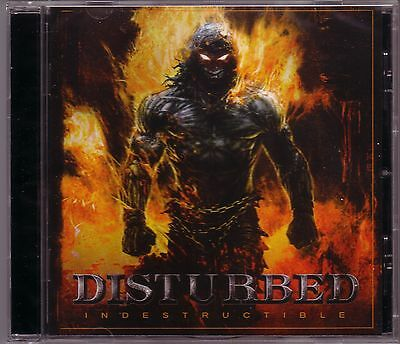 CD (NEU!) DISTURBED - Indestructible (Inside the Fire Torn Indestructable mkmbh