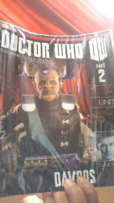 BBC Dr Who - Doctor Who Figurine Collection - Part 2 - Davros  - Magazine sealed