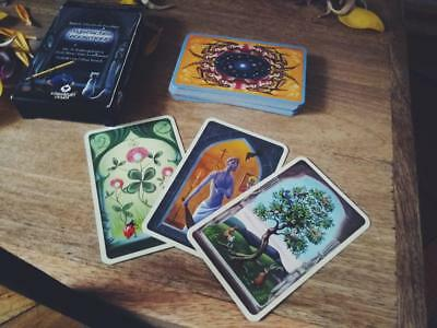 Mystical Lenormand Oracle 36 Cards Deck by Regula Elizabeth HALLOWEEN GIFT