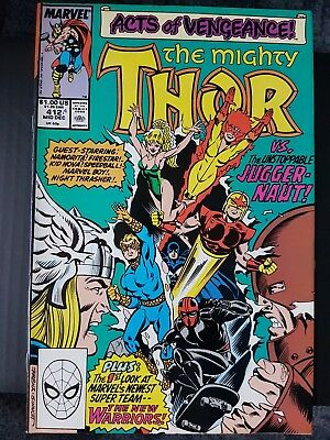The Mighty Thor 412. 1st full appearance of the New Warriors