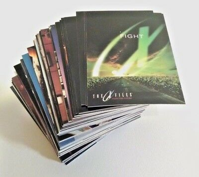 X-Files Fight the Future Movie Trading Card Lot - Vintage 1998 Topps