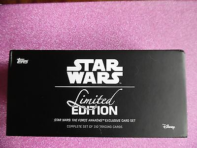 OFFICIAL TOPPS 310 Star Wars COLLECTABLE LIMITED The Force Awakens SOLD OUT RARE