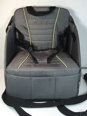 Baby Gear Eddie Bauer Pop Up Booster Seat High Chair Travel Holds Up To 30lbs Baby