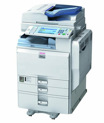Ricoh Aficio MP C4000 MFP Color Laser Copier Printer Scanner