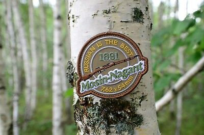 Russian Mosin-Nagant 91/30 is the best Tactical morale military patch