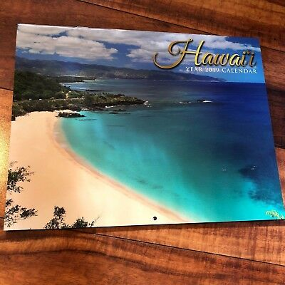 Hawaii Pictorial Scenic Calendars 2019: Hawaii, Big Island, Kauai, Maui, Flowers