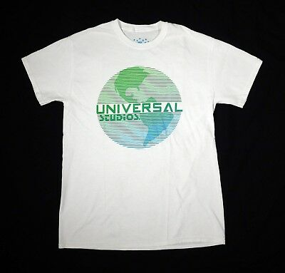 Universal Studios Hollywood T shirt Adult MEDIUM (M) White Earth Logo