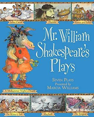 Mr William Shakespeare's Plays by Marcia Williams New Paperback Book
