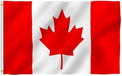 4 canada  flags/SET  3*5 feet durable sublimated  polyester FREE SHIPPING