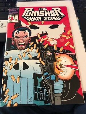 The Punisher: War Zone #1 (Mar 1992, Marvel) Near Mint Condition