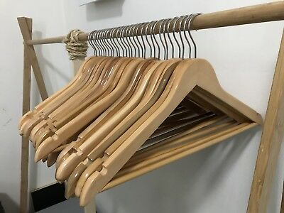 15 Wooden Clothes Hangers