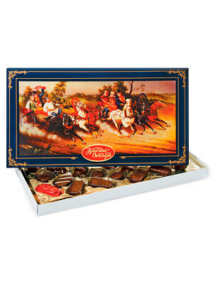 """Chocolate Candy """"Russian Troyka""""  Gift Box, 3 Types of  Chocolate  (2 pack )"""