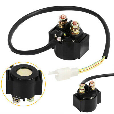12V Starter Relay Solenoid For Chinese GY6 Scooter Moped ATV 50cc 125cc 150cc