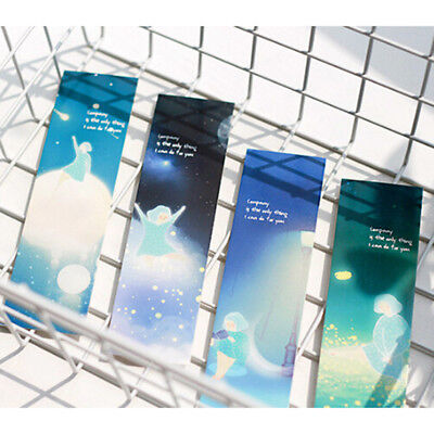 30Pcs/Set Lonely You Series Exquisite Boxed Bookmark Message Card Creative Gift