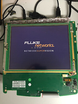 FLUKE OPTIVIEW Series II and III LCD Display - Tested - Minor Scratches.