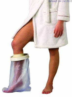 Adult Waterproof Cast & Bandage Protector Short Leg