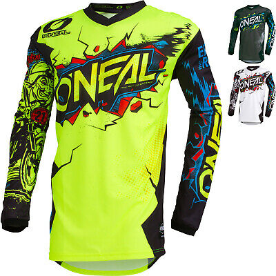 Oneal Element 2019 Villain Youth Motocross Jersey Childrens MX Top GhostBikes
