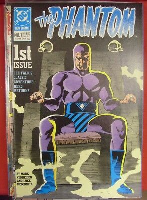 Phantom 1-13 Dc Comic Set Complete Mark Verheiden Luke Mcdonnell Falk 1989 Vf/nm