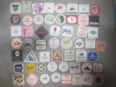 "54 different HOTELS  "" Australian  "" issue. advertising / promotion coasters"