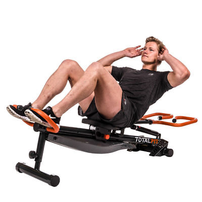 Total Fit Rowing System by New Image with BONUS Total Fit Workout DVD NEW