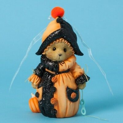 Cherished Teddies Figurine, It's a Merry Scary Masquerade, Halloween, 4040450