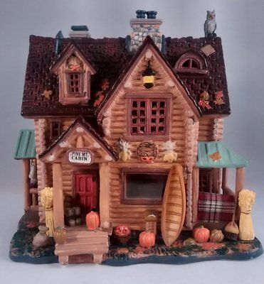 Lemax Autumn Harvest Collection Pine Mt. Cabin #55213