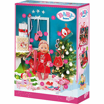 Neu Zapf Creation BABY born® Adventskalender 8284239