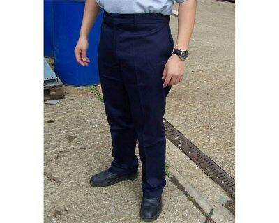 Navy Blue Proban Tr23 Flame Fire Retardant Trousers Welding Workwear
