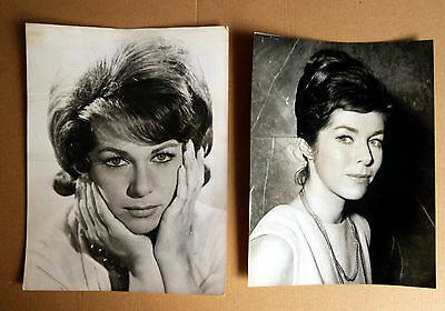 MARIANNE KOCH * 2 Orig TV-PRESSEFOTOS div. Grössen -TV-Photos VINTAGE Stills ´64