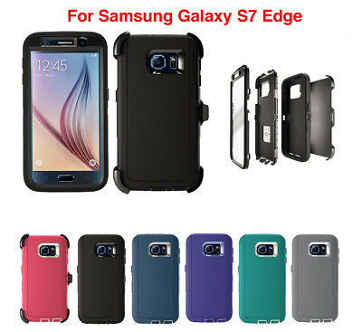 For Samsung Galaxy S7 Edge Case Cover With (Belt Clip Fits Otterbox Defender)