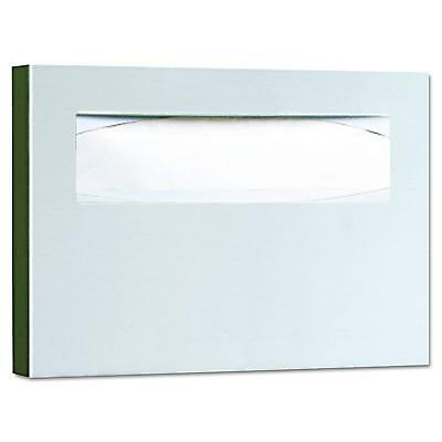 Bobrick 221 Stainless Steel Toilet Seat Cover Dispenser, 15 3/4 x 2 x 11, No Tax