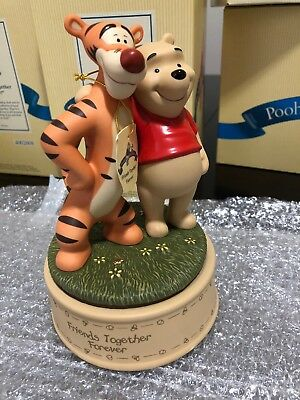 Pooh & Friends Friends Togeher Forever Pooh and Tigger Music Box