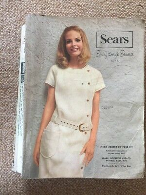 Vintage 1968 Sears Roebuck Catalog  Spring thru Summer Seattle Edition