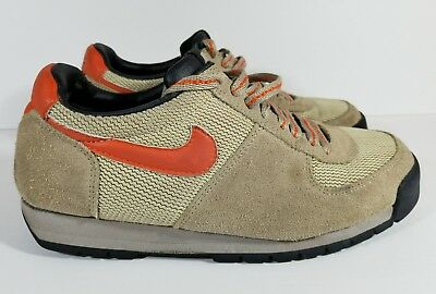 a84be7812d20 VTG NIKE Men s Lava Dome Waffle Running Hiking Shoes ACG Tan Orange Size 8.5