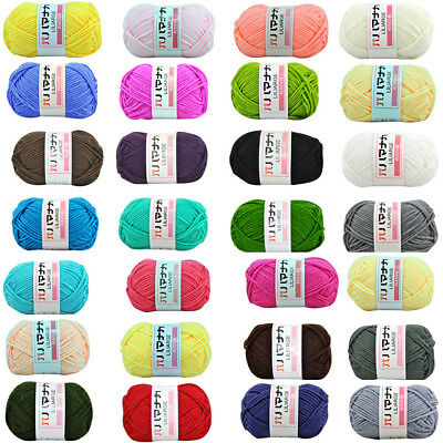 36 Color Chunky Colorful Hand Knitting Cotton Knitting Crochet Knitwear Wool 25g