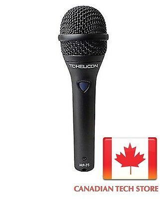 TC Helicon Vocal Microphone MP-75 Dynamic Microphone Super Cardiod New