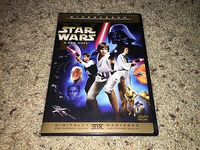 Star Wars Episode Iv A New Hope Dvd 2 Disc Set Limited Edition Widescreen 29 99 Picclick