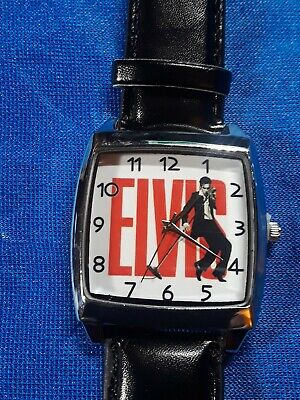 Elvis The King Watch brand new. Makes great gift or collectors item, Elvis fans