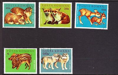 Romanian Animal Stamps