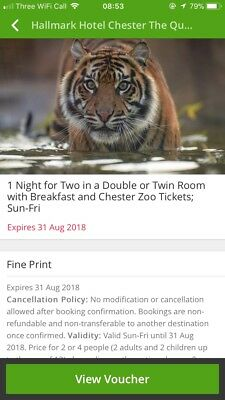 Groupon Voucher For Chester