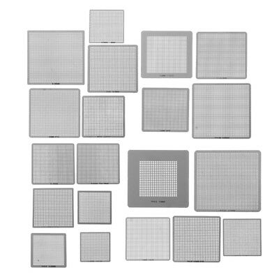27Pcs BGA Stencils Universal Direct Heated Stencils For SMT SMD Chip Rpair