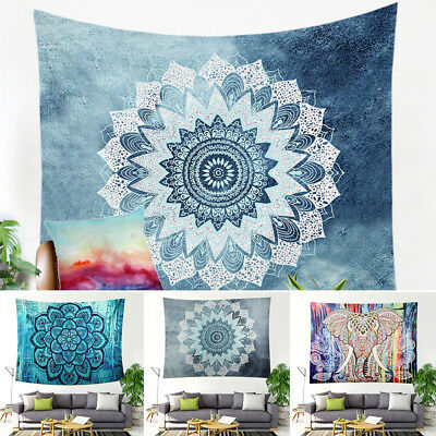 Indian Tapestry Wall Hanging Mandala Hippie Gypsy Bedspread Throw Cover Bohemian