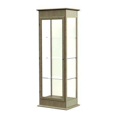 "Varsity  25""W x 77""H x 18""D  Lighted Tower Case, Hinged Door, Plaque Back,..."