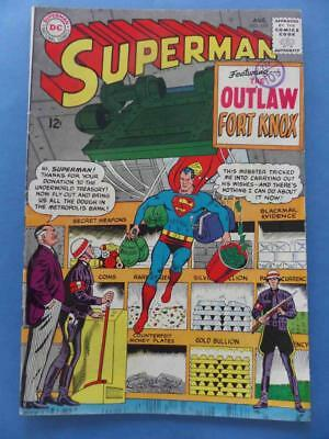 Superman 179 1965 Outlaw Fort Knox! Fn+