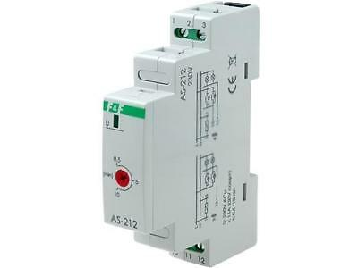 AS-212 Staircase Timer 30s ÷10m 230VAC Din -20 ÷ 50°C 16a F And F