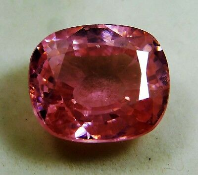 Natural 12.20 Ct. Untreated Cushion Cut Kunzite Loose Gemstone. 7036