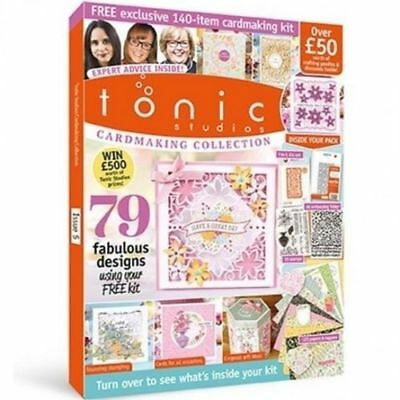 Tonic Studios Cardmaking Collection Magazine Issue 5 Free Die & Folder - New