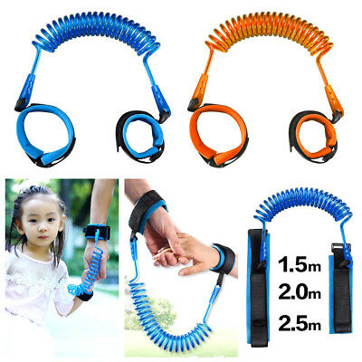 Kids Safety Leash Anti Lost Wrist Strap Baby Walk Child Toddler Link Harness UK