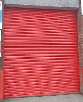 HIGH SECURITY Electric Operation Roller Shutter Doors ALL SIZES AVAILABLE